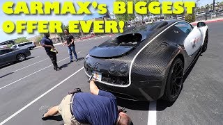 Download Taking a $2Million Bugatti Veyron Mansory to CarMax for an Appraisal Mp3 and Videos