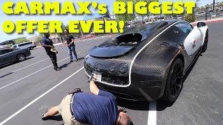 Taking a $2Million Bugatti Veyron Mansory to CarMax for an Appraisal thumbnail