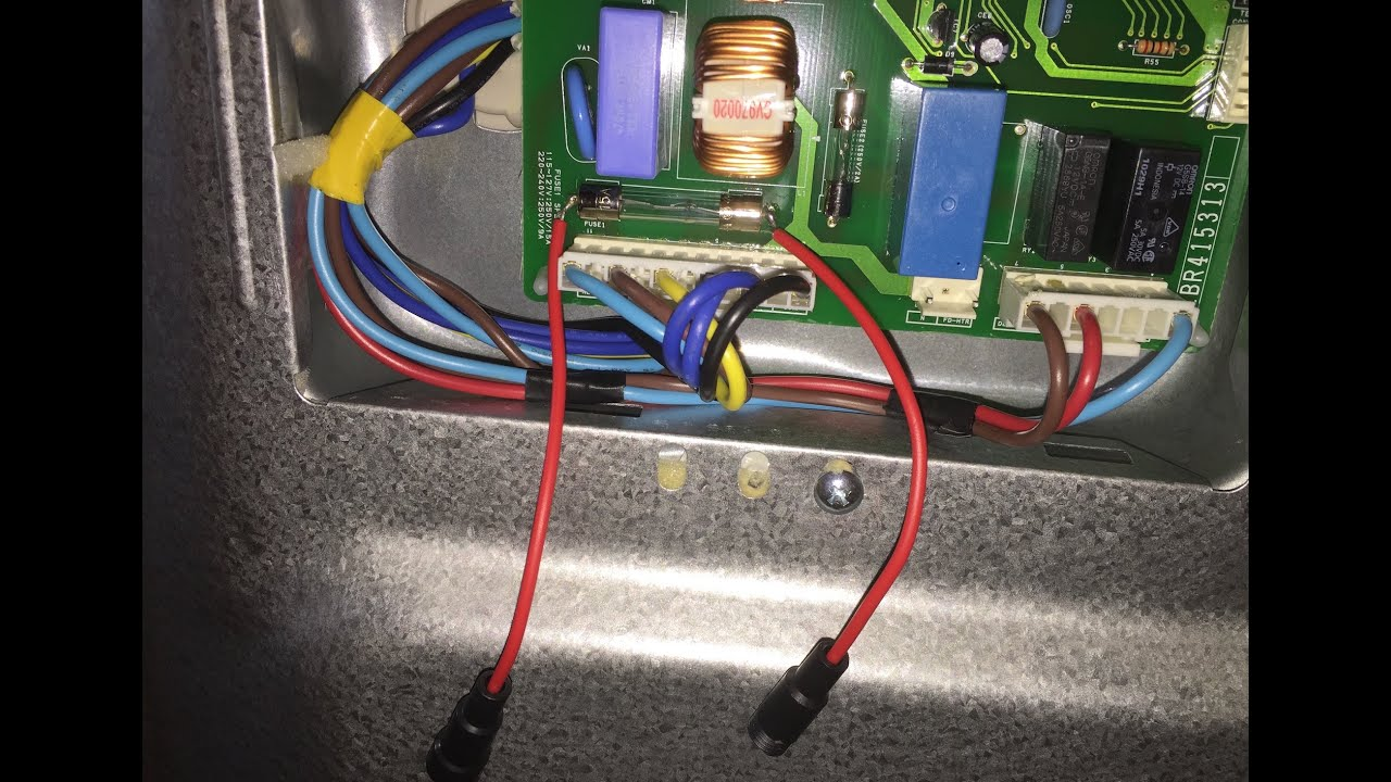 small resolution of warm lg refrigerator replacing the fuse on the main control board