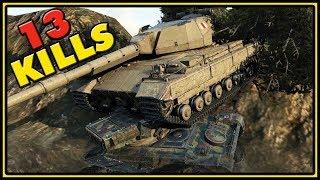 Super Conqueror - 13 Kills - World of Tanks Gameplay