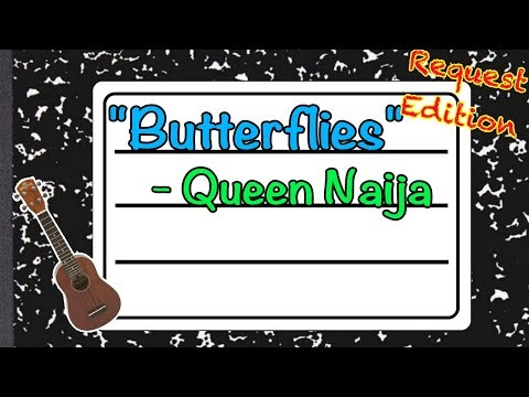 "How to play ""Butterflies"" by Queen Naija – Teach Me Tuesday – Ukulele Tutorial"