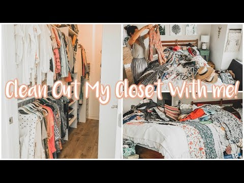 Clean Out My Closet With Me In 4 Easy Steps!
