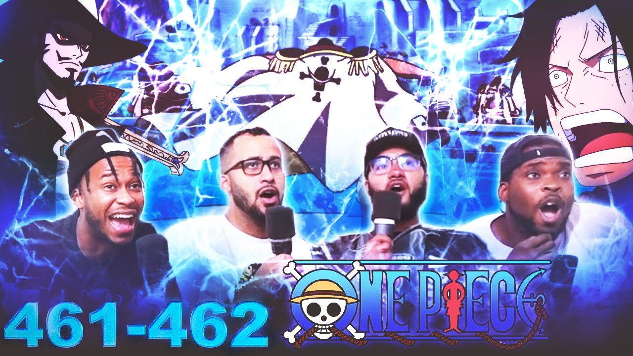 THE WAR BEGINS! One Piece eps 461/462 Reaction