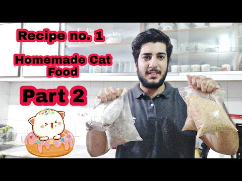 Homemade Cat Food | persian cat food recipe |how to make cheap homemade cat food at home| part 2|