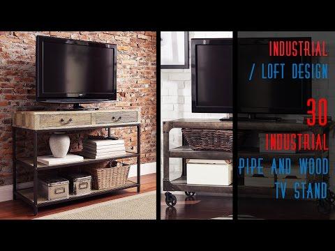 30 DIY Industrial TV Stands