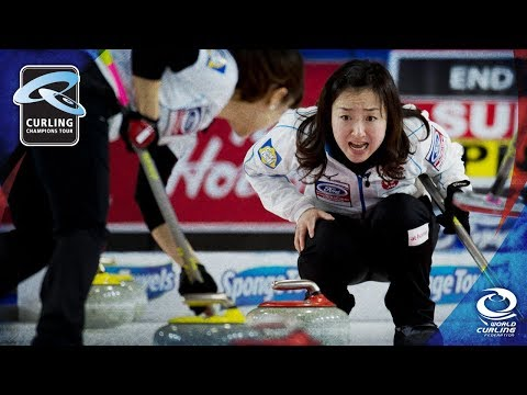 CCT: Tirinzoni (SUI) v Fujisawa (JPN) Draw 2, Group C - Stockholm Ladies Curling Cup 2017