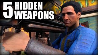 Fallout 4 - 5 Hidden Weapons