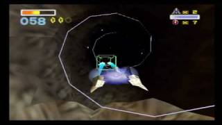 Let's Play Star Fox 64 #2 Asteroid Field and Warp