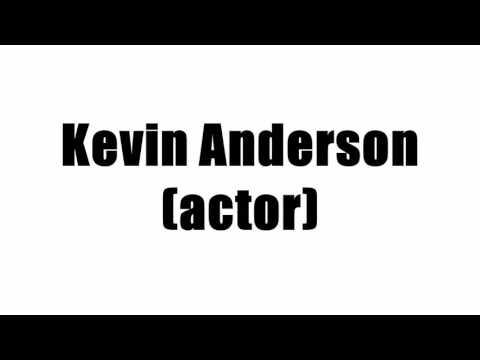 Kevin Anderson (actor)