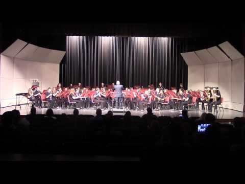 Riverside Junior High Symphonic Band- British Waterside