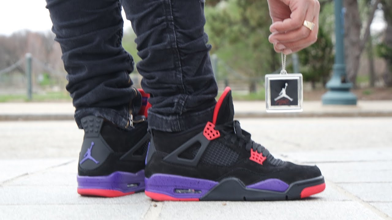 on sale a80fc 2e189 Air Jordan 4 NRG Raptors Review