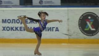 Полина Решетникова, 6 лет, Юный фигурист