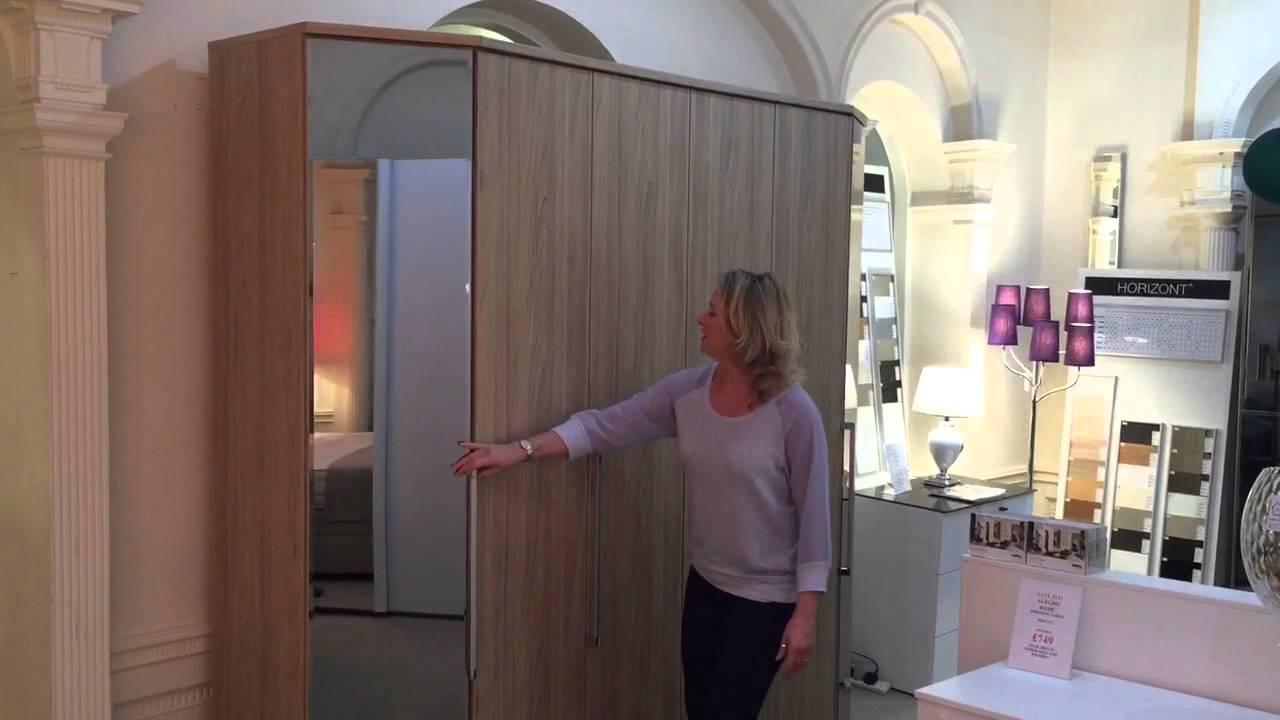 Nolte Mobel Bedroom Furniture Horizon 7000 Wardrobe From Nolte Mobel Mia Stanza Youtube