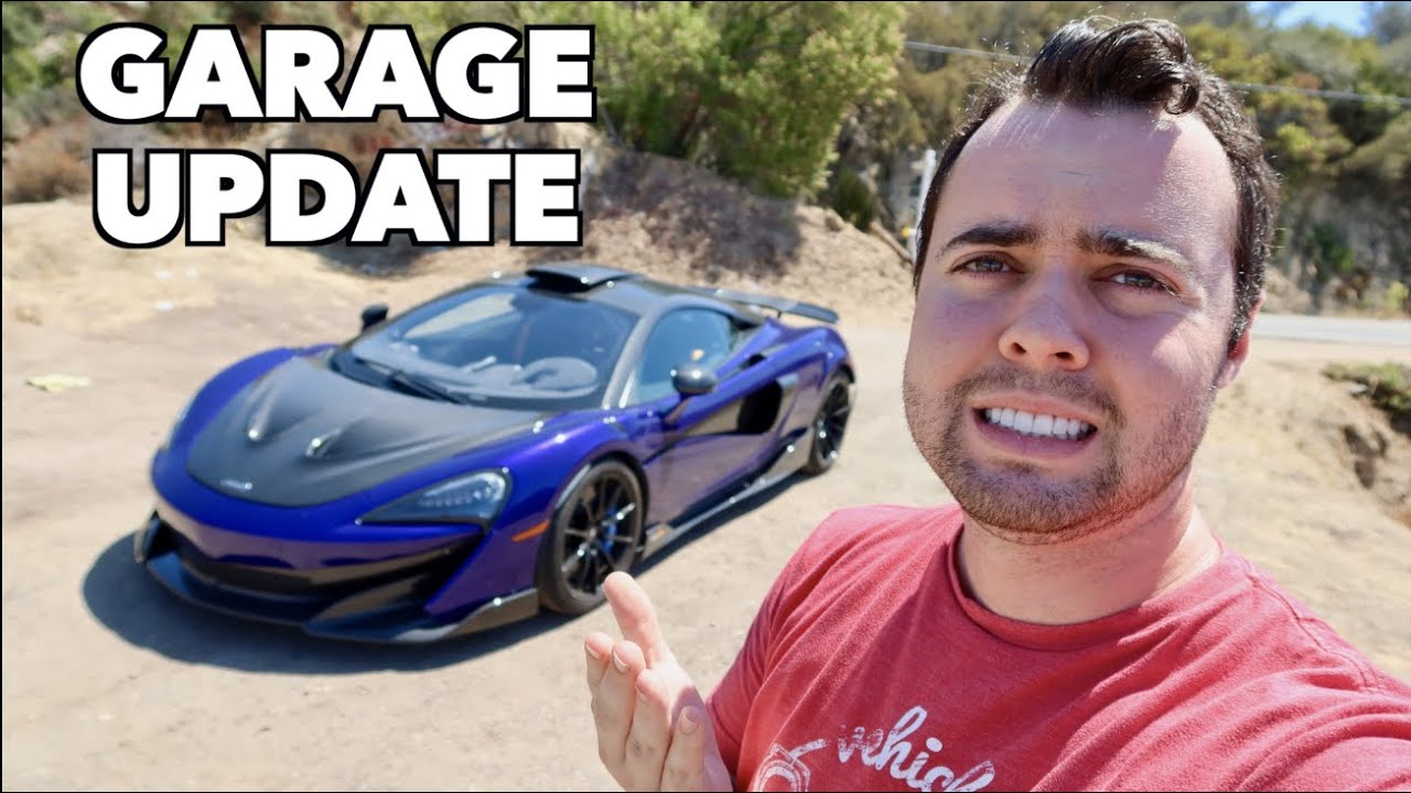 GARAGE UPDATE! The Truth About My Supercar Collection