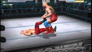 Wrestlemania 21: Gameplay Chris Benoit vs Kurt Angle