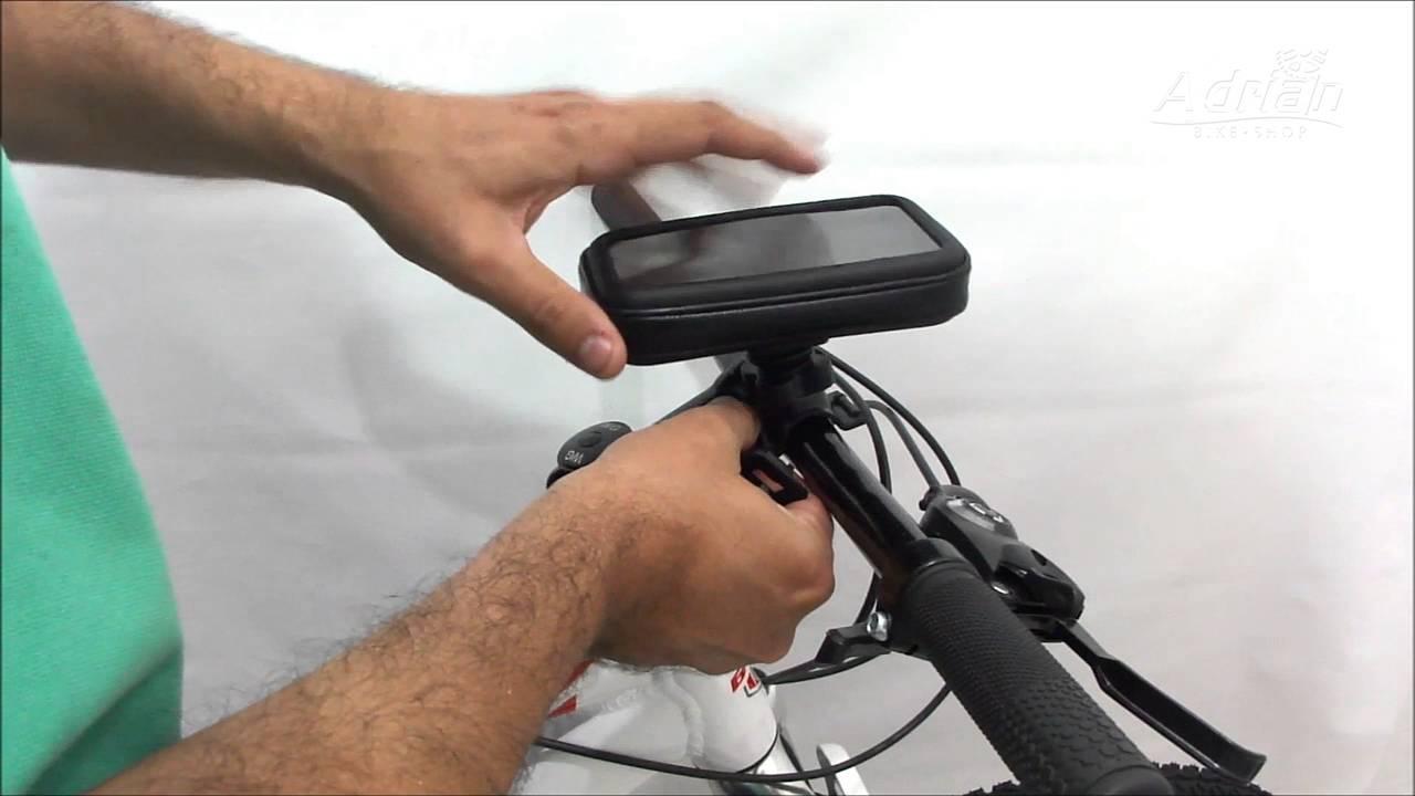 a22e02ea3f3 Porta Celular Para Bicicleta - Adrian Bike Shop - YouTube