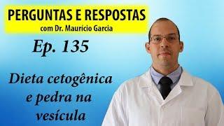 Cetogênica e pedra na vesícula - Perguntas e Respostas com Dr Mauricio Garcia ep 135