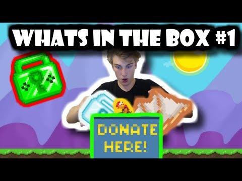 EMERALD LOCK + WHAT'S IN THE BOX #1 | Growtopia