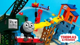 Thomas and Friends TrackMaster Mad Dash on Sodor Train Toys | Kinder Playtime