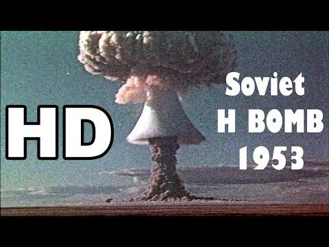 HD The Destructive Power Of Hydrogen Bomb Soviet RDS-6s 1953.