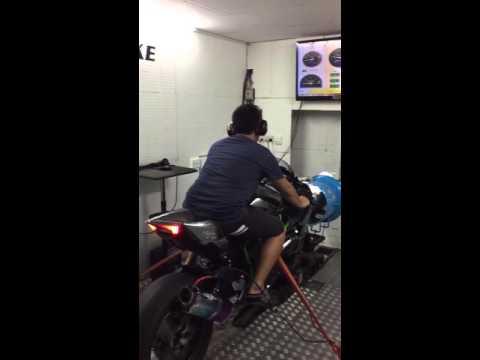 Ninja H2 Beet Exhaust Dyno Test Youtube