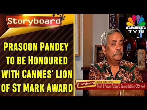 STORYBOARD SPECIAL- Piyush Pandey On Lion Of St. Mark