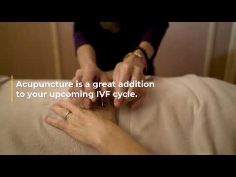 Combine Fertility Treatments and Acupuncture