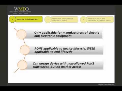 RoHS Directive 2011/65/EU & WEEE Directive 2012/19/EU