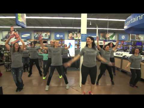 Insanity Flash Mob Walmart