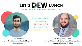 Let's DEW Lunch Webinar with SoundCloud and Manatt (May 15, 2020)
