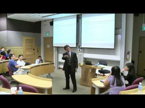 Profiles of Excellence Lecture Series - By Professor Cheng Qiang, SOA