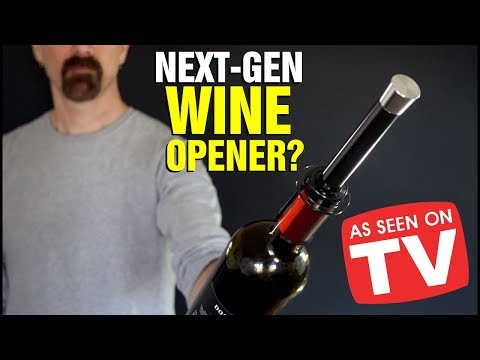 Vino Pop Review: Wine Opening Made Easy? | As Seen on TV