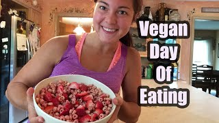 vegan day of eating    hclf vegan calorie deficit for weight loss