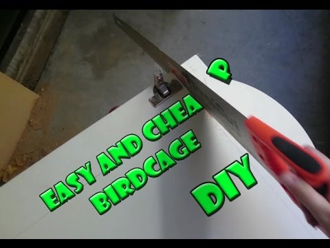 DIY, How To Make An Easy And Cheap Bird cage - small aviary