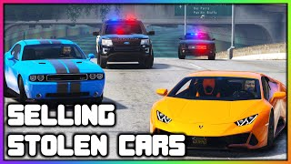 GTA 5 Roleplay - Selling Stolen Cars GONE WRONG | RedlineRP