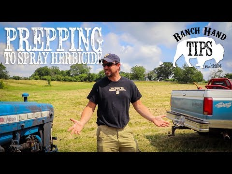 Preparing Pastures For Spraying Herbicide