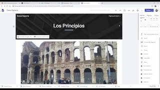 Módulo 4: Creando mi Web Educativa con Google Sities