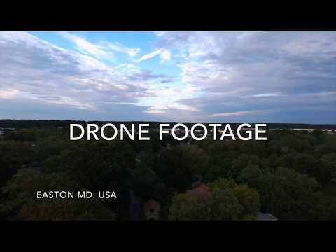DRONE FOOTAGE EASTON MD.USA