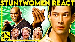 Stuntmen React To Bad & Great Hollywood Stunts 31