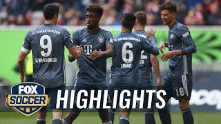 Watch full highlights between fortuna dusseldorf vs. bayern munich.#foxsoccer #bundesliga #bayern #fortuna subscribe to get the latest fox soccer content: ht...