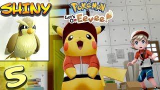 SHINY TAUBSI & POKEMANIAC BILL - Pokemon Lets Go Pikachu Deutsch Part 5