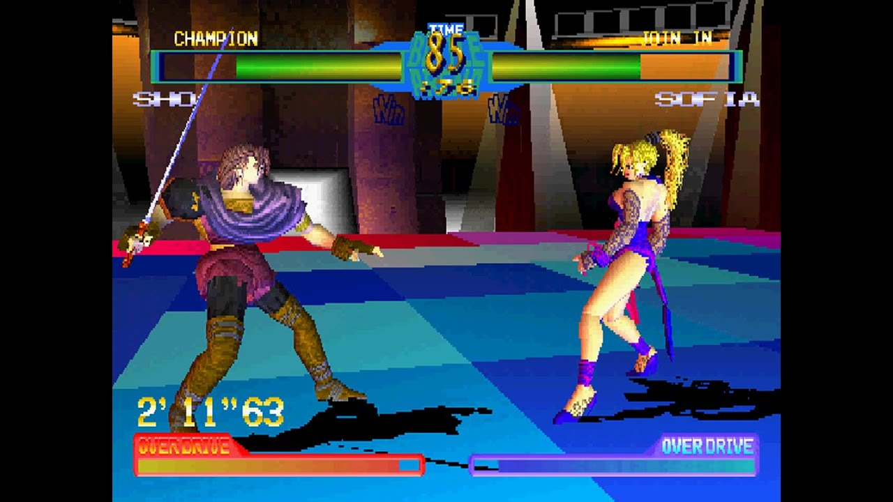 Battle Arena Toshinden 2 Arcade Play As Master By Krizalid99v2