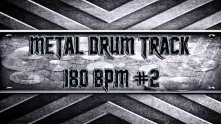Metal Drum Track 180 BPM #2 (HQ,HD)