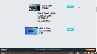 Free gta v mod menu