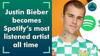 Justin Bieber: Spotify's most listened to artist - most listened artist spotify personal