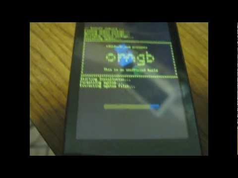 How To install OMGB (NAND) Android 2.3 on an HTC Touch Pro2 (Rhod210)