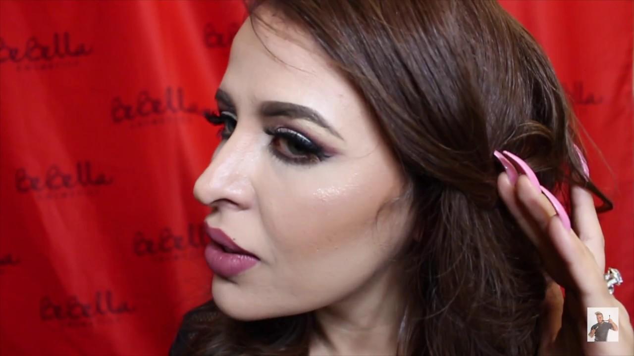 Hollywood glam on Bebella Cosmetics CEO