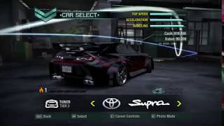 NFS CLASSICS: MEANEST LOOKING CAR!!! -NFS CARBON