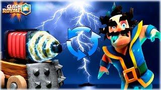 ¡¡ EL ORIGEN DEL MAGO ELECTRICO CREADO POR SUPERCEL !! - Clash Royale [WithZack]