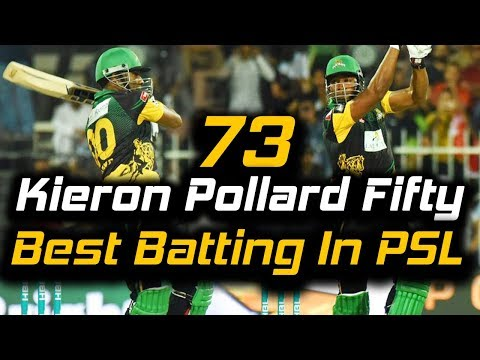 Kieron Pollard Superb Batting 73 runs in PSL | Multan Sultans vs Islamabad United | HBL PSL 2018